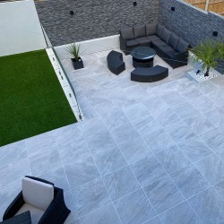 Icaria Blanco 20mm Outdoor Porcelain Tiles