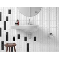Metro Bevel Gloss White  10 x 30cm