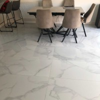 Purity White Marble 60 x 120cm Polished Porcelain Tile