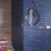 Retro Chic Blue Wall Tile