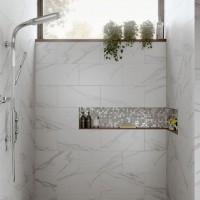 Kendal Bianco Glazed Porcelain W&F 600x300mm