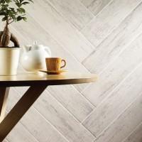 Kielder White Glazed Porcelain 150x900mm