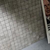 Silver Shadow Grey Tumbled Marble Mosaic 23x23mm